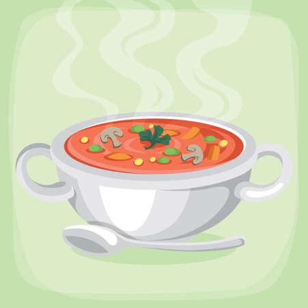 hot: hot soup