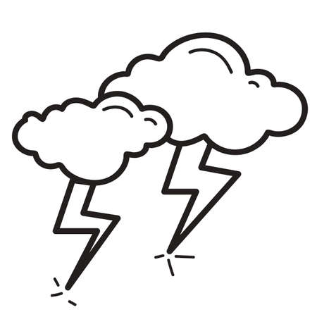 lightening: clouds and lightening