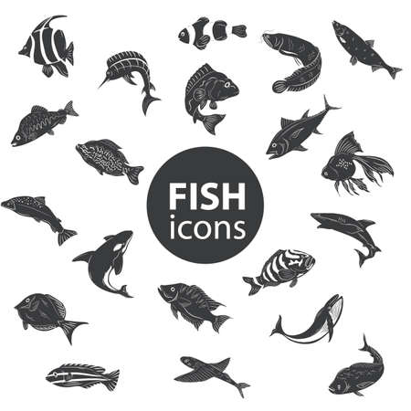 redbreast: fish icons