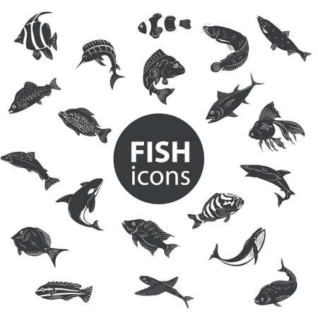 sunfish: fish icons