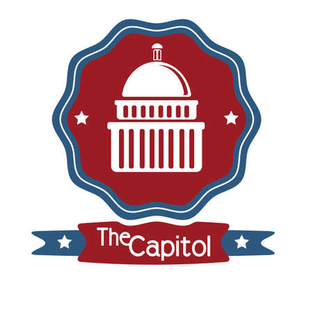 the capitol: united states capitol label