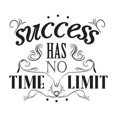 has: success has no time limit poster