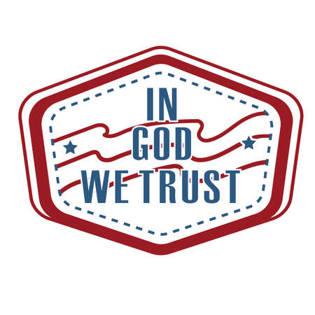 in god we trust: in god we trust label