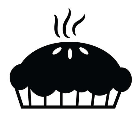 baked: baked pie Illustration