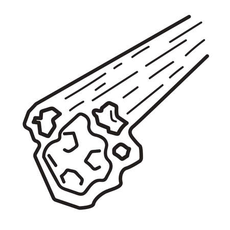 meteorite: meteorite Illustration