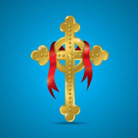 Croce celtica  Archivio Fotografico - 52929810