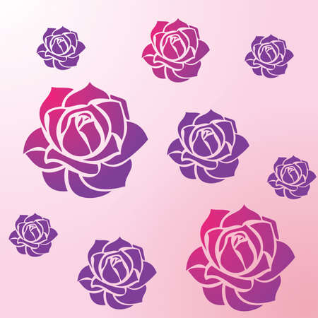 rose: rose flowers background