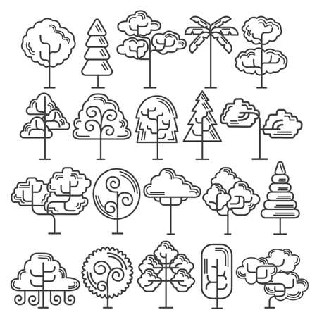 minimal: collection of trees