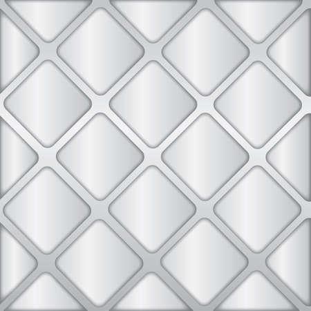 metallic: metallic squares background Illustration