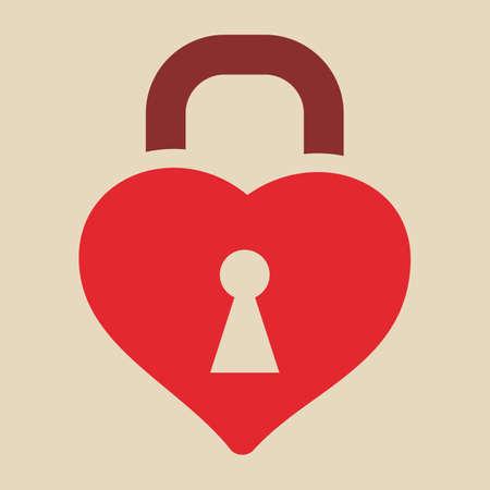 unlocking: heart shaped lock