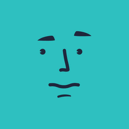 worried: worried face emoticon