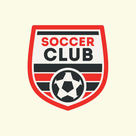 soccer club: soccer club label