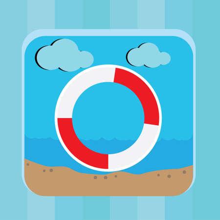 tube: swimming tube