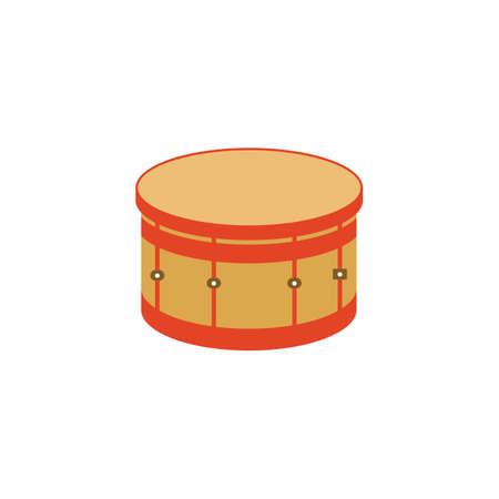 drum and bass: bass drum Illustration