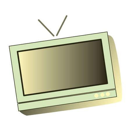 tuner: television Illustration