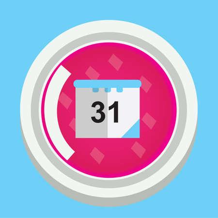 31st: calendar button