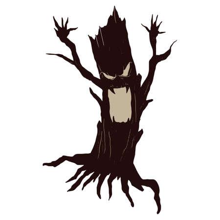 spooky tree: halloween spooky tree