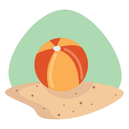seashores: beach ball