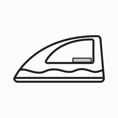 iron: iron box Illustration
