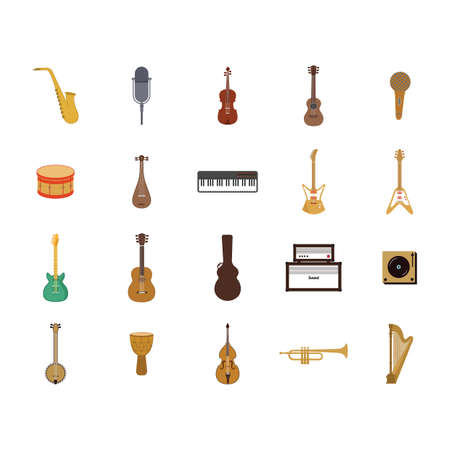 cellos: collection musical instruments