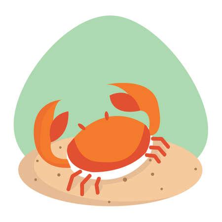 crustaceans: crab