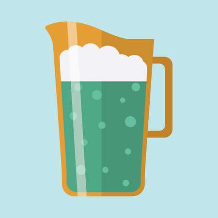 맥주 투수 일러스트