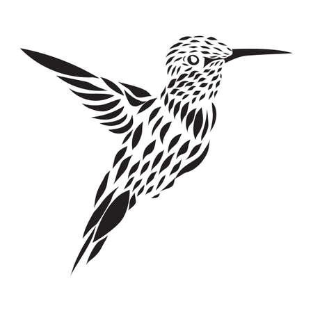humming: humming bird tattoo