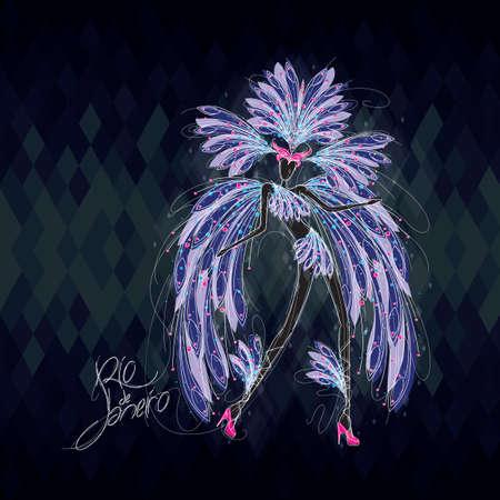 exotic dancer: samba queen