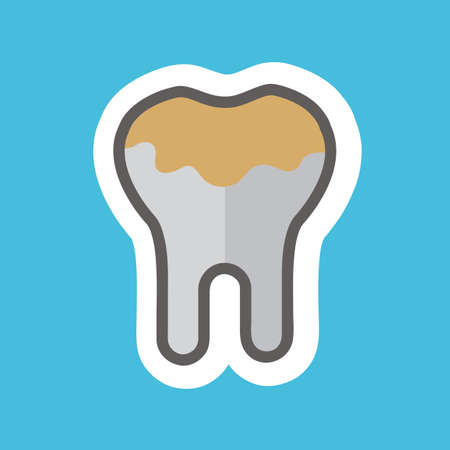 placa bacteriana: diente de la placa