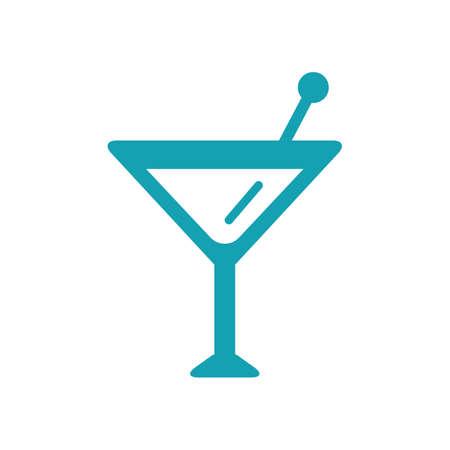 copa martini: vaso de martini