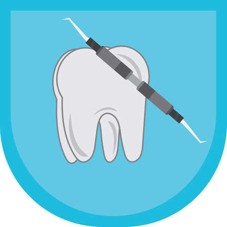 pick: tooth with dental pick