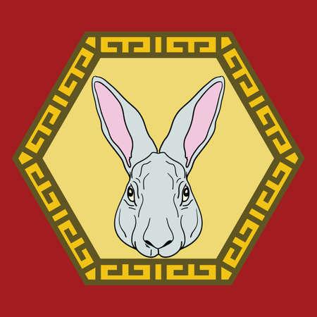 asian bunny: chinese rabbit horoscope sign