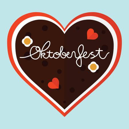 gingerbread heart: gingerbread heart