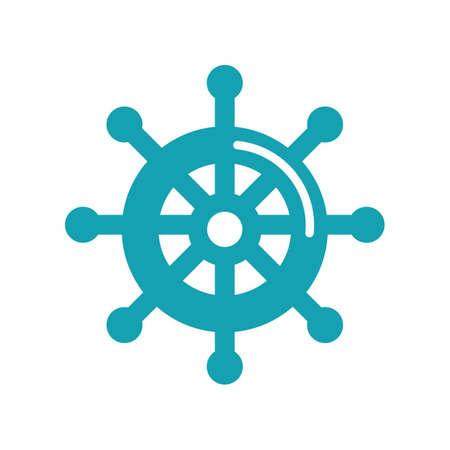 statku kierownicy Ilustracje wektorowe