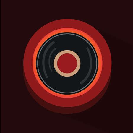 vinyl: dj vinyl disc