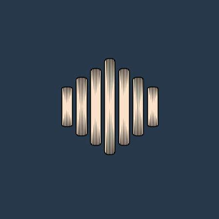 soundwave: soundwave graph Illustration