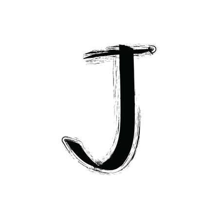 j: alphabet j Illustration