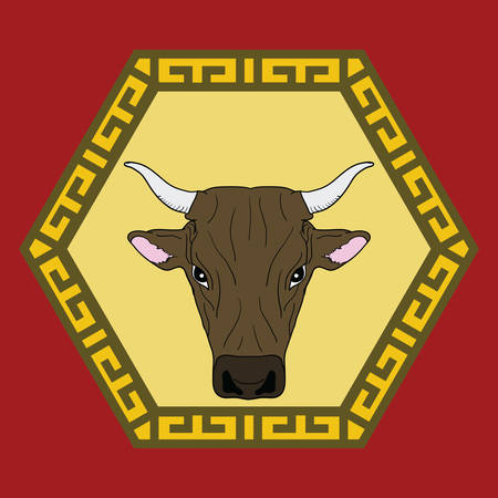 ox: chinese ox horoscope sign