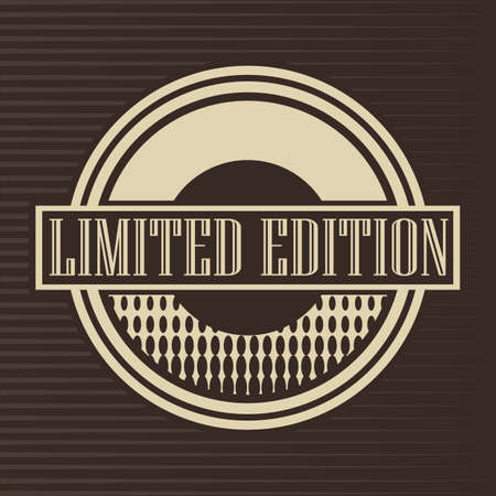 limited edition: limited edition label Illustration