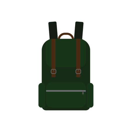 sightseeings: backpack Illustration