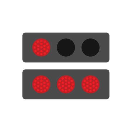 drag: race track lights