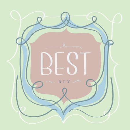 the best: best buy label