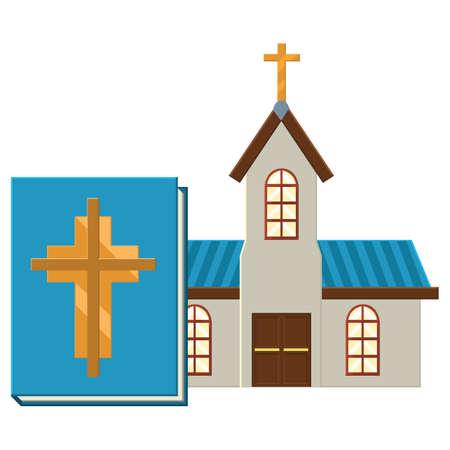chapel: church Illustration