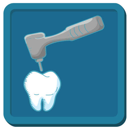 drill: tooth with drill