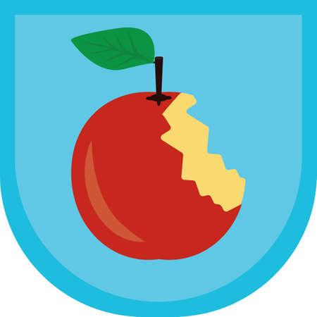 bitten: bitten apple