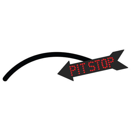 pit: pit stop arrow