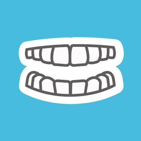 teeth 向量圖像