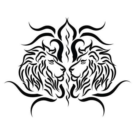 tattoo design: lion tattoo design