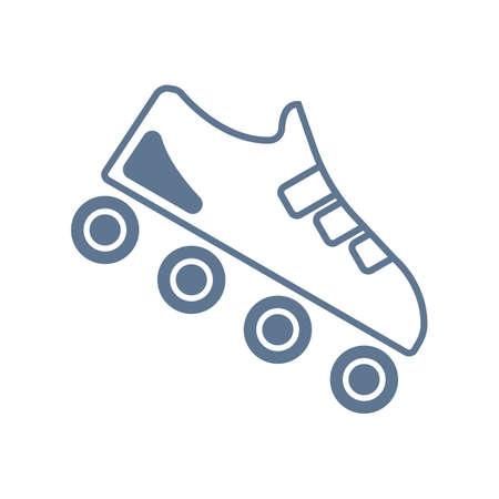 roller: roller skate Illustration