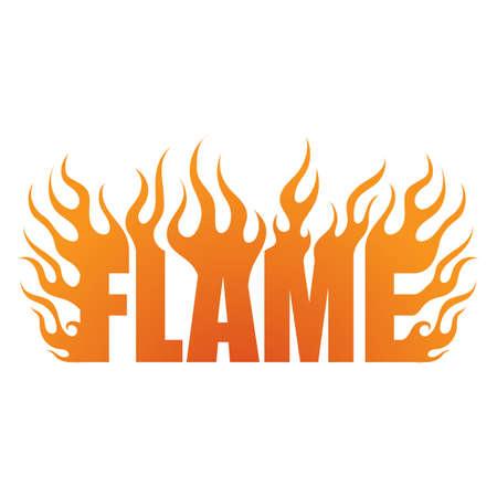 word: word flame